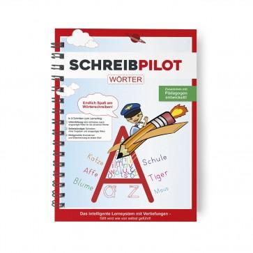 Schreibpilot Heft Wörter mit Bleistift/Radiergummi - DIN-A4