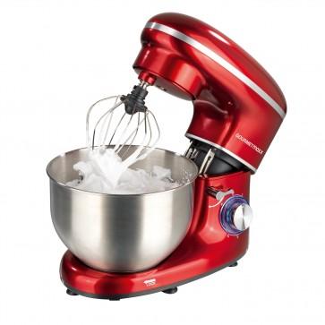 GOURMETmaxx Küchenmaschine - 6 Geschwindigkeitsstufen und Turbofunktion - rot