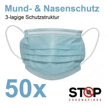 Atemschutzmaske KN95 FFP2 - 98% Filterleistung - 10er-Set – weiß