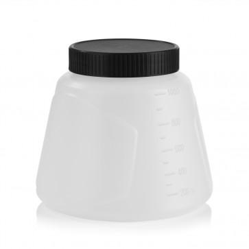 EASYmaxx Farbbehälter - 1000 ml - Für Akku-Farbpistole (03571)