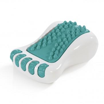VITALmaxx Fuß-Massagegerät Vibration 3V - Weiß/Türkis