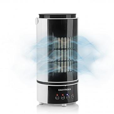 EASYmaxx Klimagerät Kühlen & Heizen - 4 Geschwindigkeitsstufen - schwarz