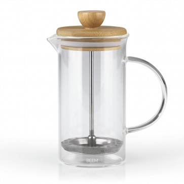BEEM COFFEE PRESS Kaffeebereiter - 0,35 l | 2 - 3 Tassen | French Press Kaffee | Bambus