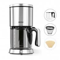 BEEM Filter-Kaffeemaschine Edelstahl - Glas