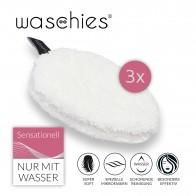 waschies Abschmink- & Waschpads 3er-Set - weiß
