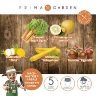 PRIMA GARDEN verrücktes Gemüse-Anzuchtset, 20 tlg.
