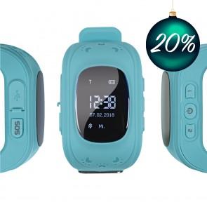 EASYmaxx Armbanduhr Kids Smart Watch OLED - Hellblau