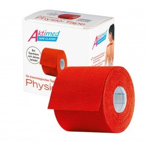 Aktimed TAPE CLASSIC | klassisches Physio-Tape für kinesiologisches Taping | rot