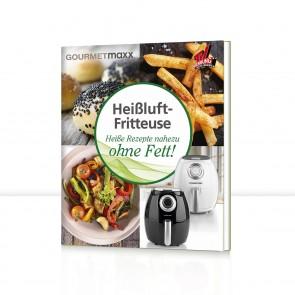GOURMETmaxx Buch Heißluft-Fritteuse mit 70 Rezepten - Freisteller 1
