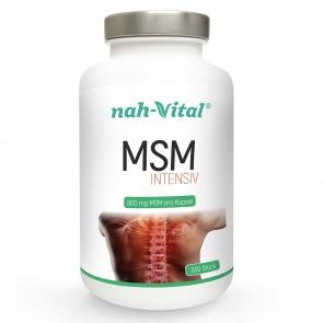 nah-vital MSM intensiv | 330 Kapseln mit je 800 mg MSM