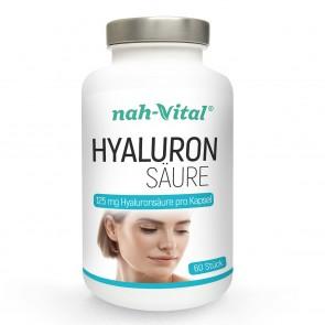 nah-vital Hyaluron | 60 Kapseln mit je 125 mg Hyaluronsäure