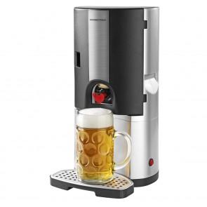 GOURMETmaxx Bierkühler 65W - Silber/Schwarz
