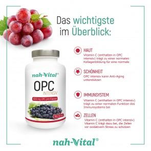 nah-vital OPC intensiv | 180 Kapseln mit je 600 mg OPC