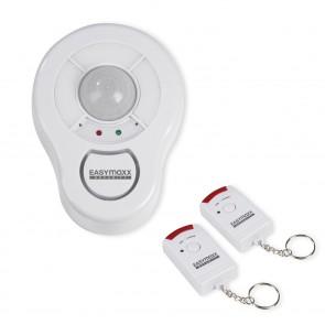 EASYmaxx Security Deckenalarm 360 Grad 6 V in Weiß mit 2 Fernbedienungen - Freisteller 1