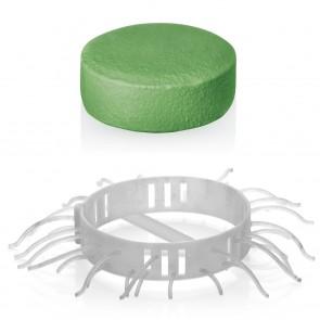 Abfluss-Fee Dusche 4x Haarfänger & 4x Duftstein Zitrone/Apfel