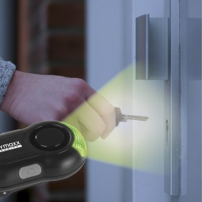 EASYmaxx Security Alarmanlage Sicherheits-Clip 6V in Schwarz