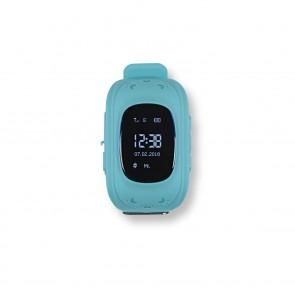 EASYmaxx Armbanduhr Smartwatch OLED - Hellblau