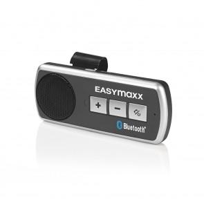 EASYmaxx Auto-Freisprecheinrichtung Bluetooth 3,7V - Schwarz/Silber