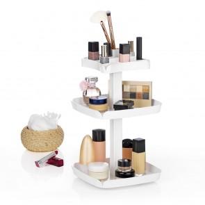 VITALmaxx Aufbewahrungs-Karussell Kosmetik - Weiß