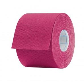 Aktimed TAPE PLUS | Physio-Tape für kinesiologisches Taping | speziell entwickelter Klebstoff mit pflanzlichen Extrakten | pink