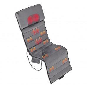 VITALmaxx Shiatsu-Massagematte - 5 verschiedene Massageprogramme - grau