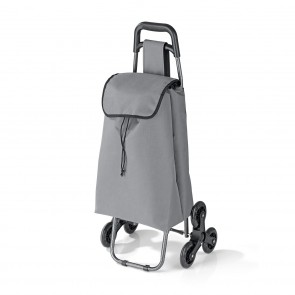 EASYmaxx Einkaufstrolley Treppensteiger faltbar - Grau