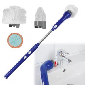 CLEANmaxx Ersatz-Bürstenkopf 3-tlg. für die Akku-Reinigungsbürste 3,7V