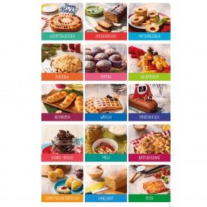 Kinderleichte Becherküche - Band 1 - Für die Backprofis von morgen, Set inkl. 5 Messbecher + Rezeptbuch