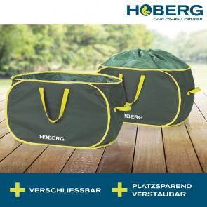 Hoberg Gartenabfalltasche 85 l - 2er Set