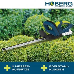 Hoberg Akku Heckenschere 20 V (inkl. Akku & Ladestation)