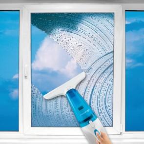 cleanmaxx Akku-Fensterreiniger 3in1 7,2V in Blau/Weiß