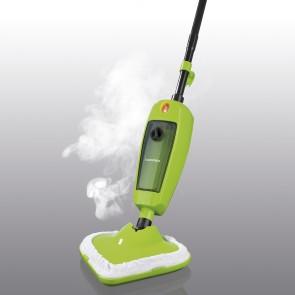 CLEANmaxx Dampfbesen 1000W in Limegreen/Schwarz