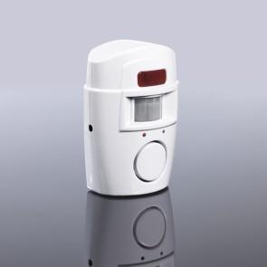 EASYmaxx Bewegungsmelder mit Alarmsignal in Weiß