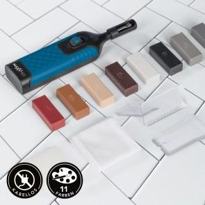 MAXXMEE Reparatur-Set Fliesen - 8 Wachsfarben