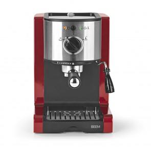 BEEM ESPRESSO-PERFECT | Espresso-Siebträgermaschine - 15 bar | Rot