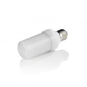 EASYmaxx LED-Glühlampe Flammeneffekt E14 1W