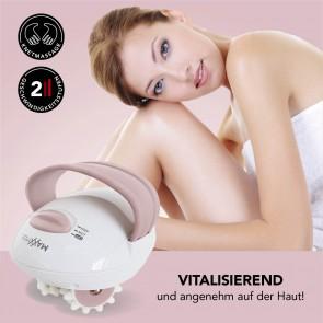 MAXXMEE Anti Cellulite Massagegerät - 2 Intensitätsstufen - weiß