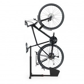 EASYmaxx Fahrradständer vertikal - Schwarz
