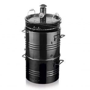 EASYmaxx Grilltonne BBQ 4in1 - Schwarz