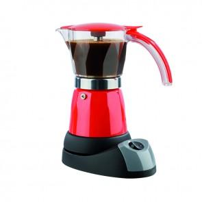 GOURMETmaxx Espresso-Kocher elektrisch in Rot - Freisteller