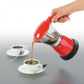 GOURMETmaxx Espresso-Kocher elektrisch in Rot