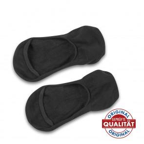 GoBunion Hallux Füßlinge mit integriertem Zehenspreizer, Größe 35-38, schwarz