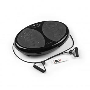 VITALmaxx Vibrationstrainer rund 200W schwarz