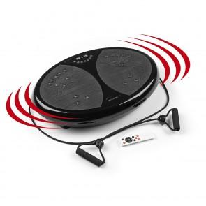 VITALmaxx Vibrationstrainer - 99 Vibrationsstufen - schwarz