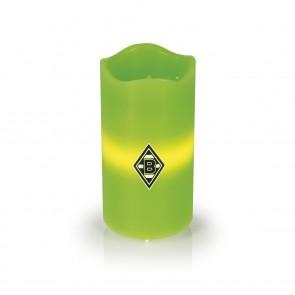 BMG LED-Echtwachskerze - Mit rotierender BMG-Logo-Projektion