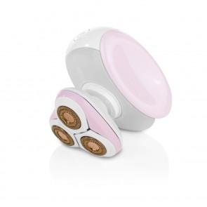 VITALmaxx Haarentferner Perfect Shave Body - Mit LED-Licht - rosa/weiß