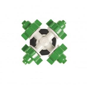 EASYmaxx Gartensprinkler mit Flexi-Schlauch - 2 Meter