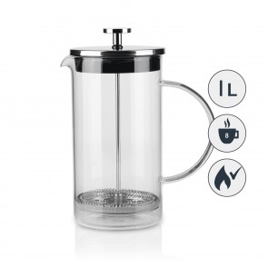 BEEM COFFEE PRESS Kaffeebereiter - 1 Liter - French Press