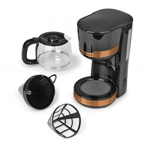 GOURMETmaxx Kaffeemaschine 1000W - Kupferfarben