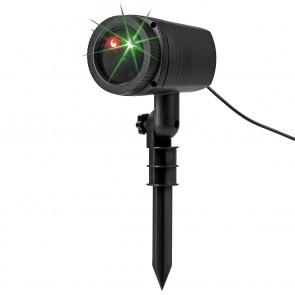 EASYmaxx Laserstrahler Starlight 3W in Schwarz mit Fernbedienung - Freisteller